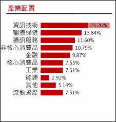 復華已開發國家300股票指數基金產業分布