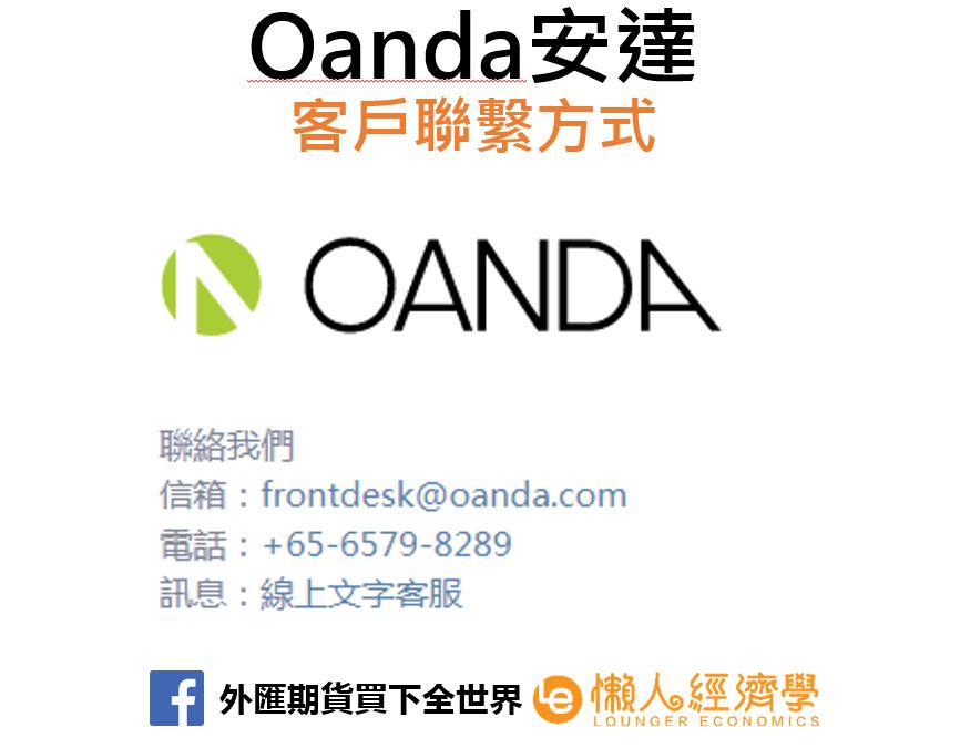 Oanda安達模擬帳戶