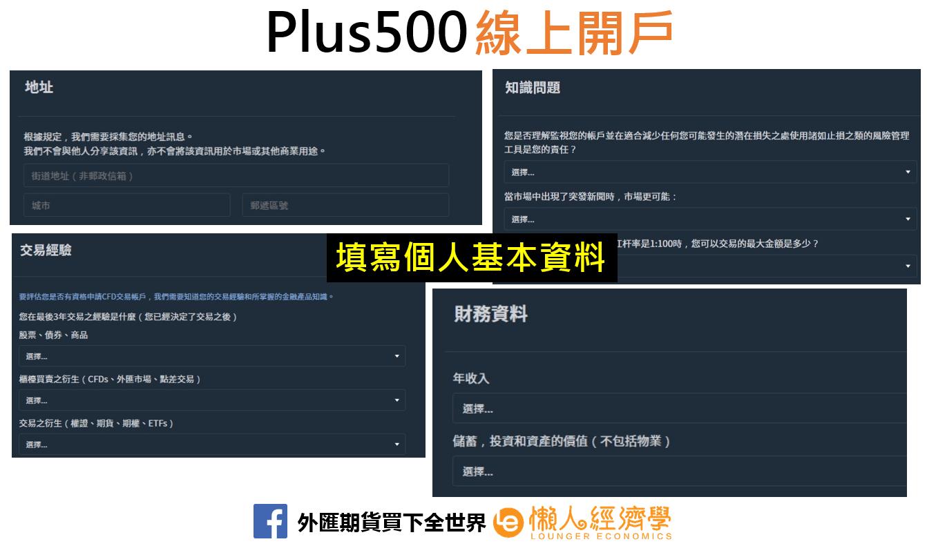 Plus500開戶