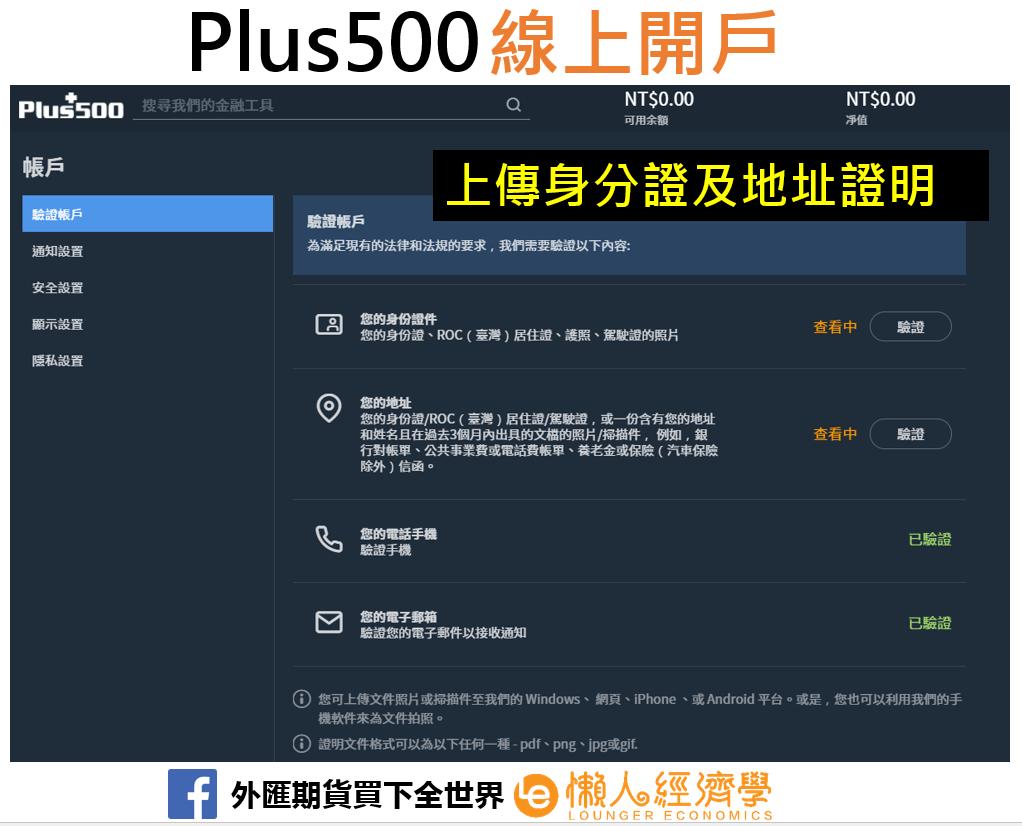 Plus500開戶2