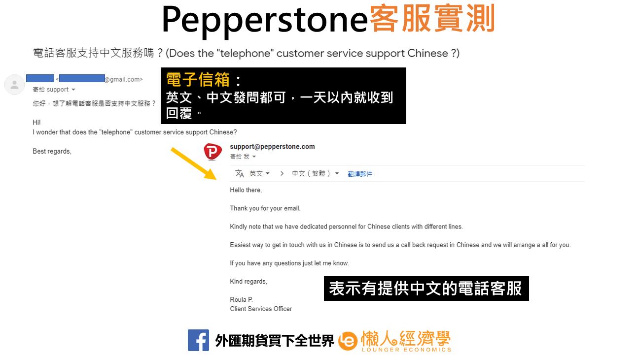 Pepperstone電子信箱