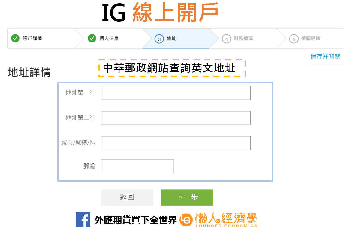 IG Trading線上開戶