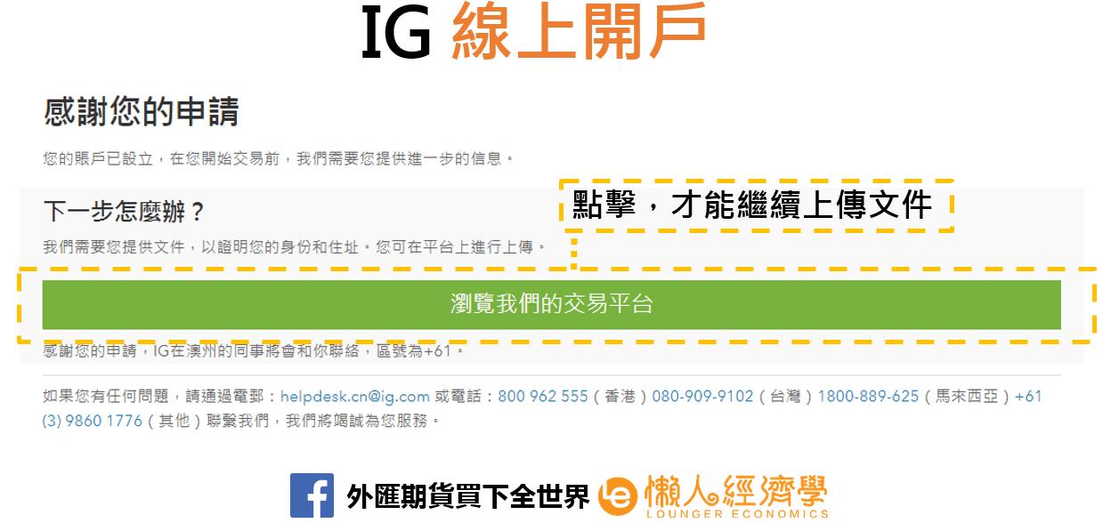 IG Trading線上開戶2