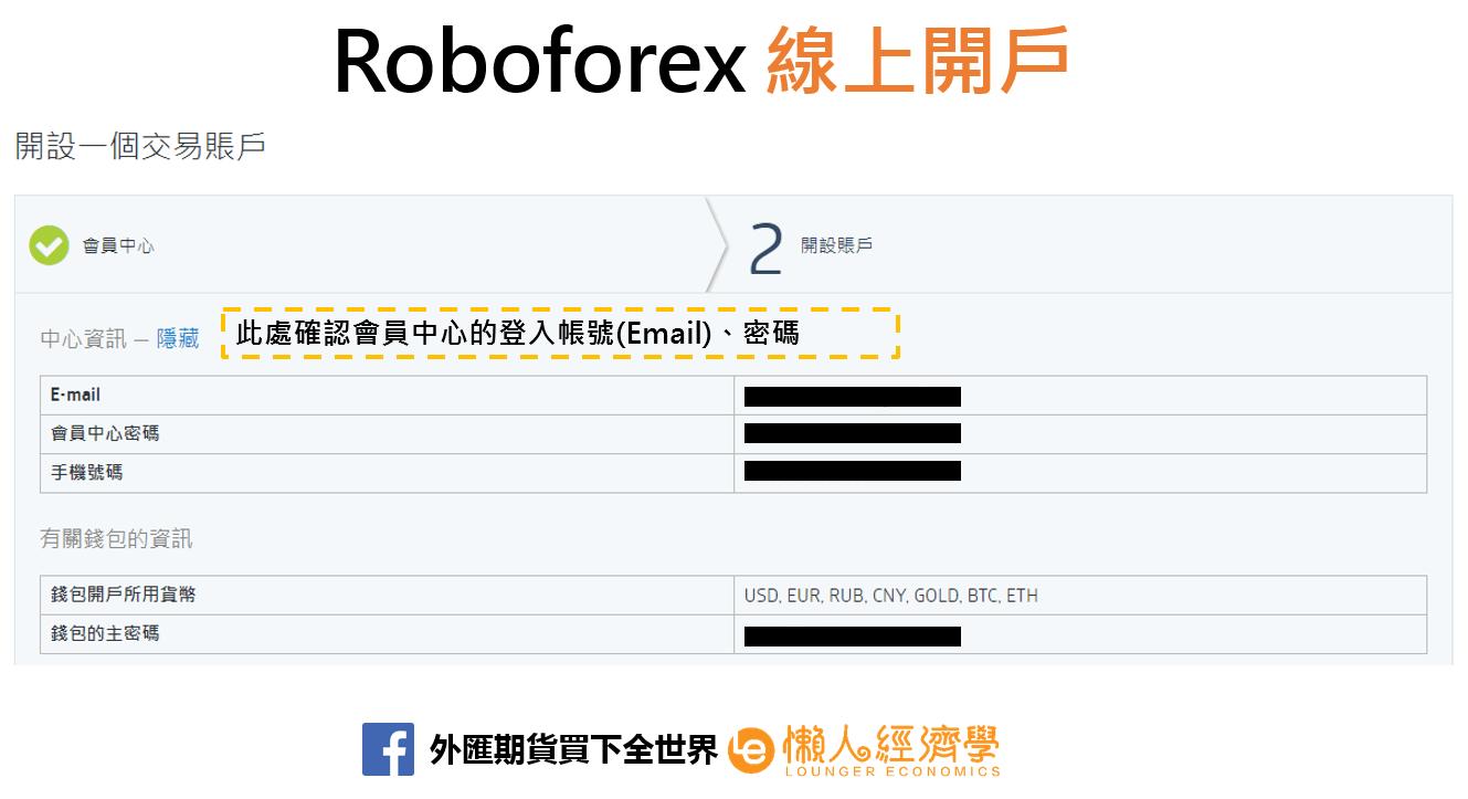 Roboforex線上開戶2