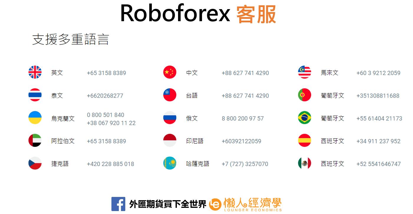 Roboforex客服