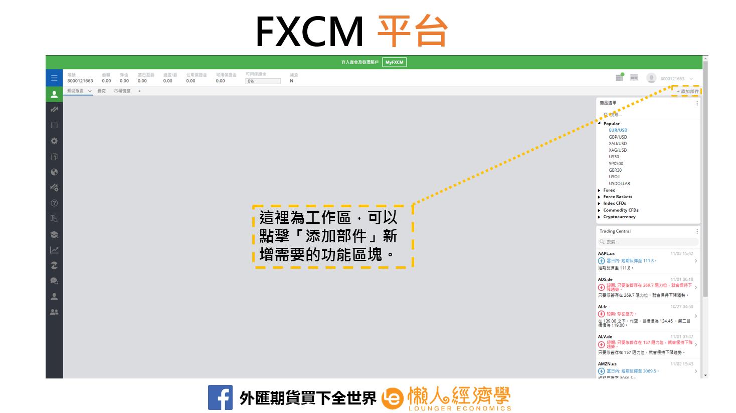 FXCM平台
