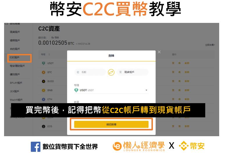 幣安C2C買幣教學-4