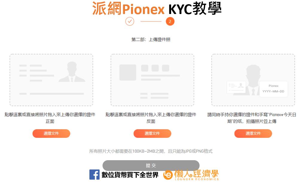 Pionex KYC教學-派網-3