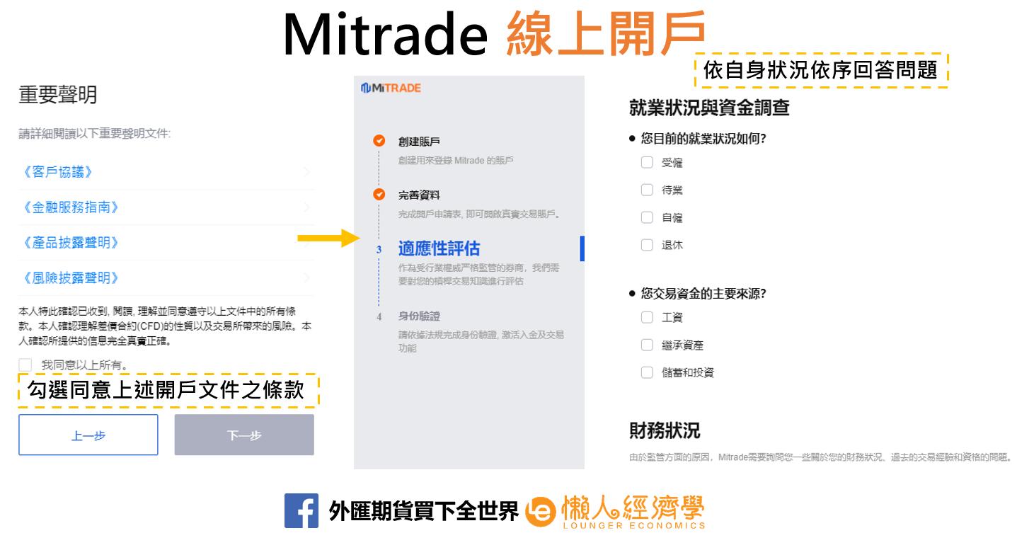 mitrade線上開戶4