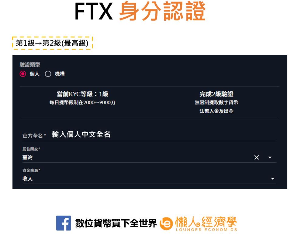 FTX身分驗證2