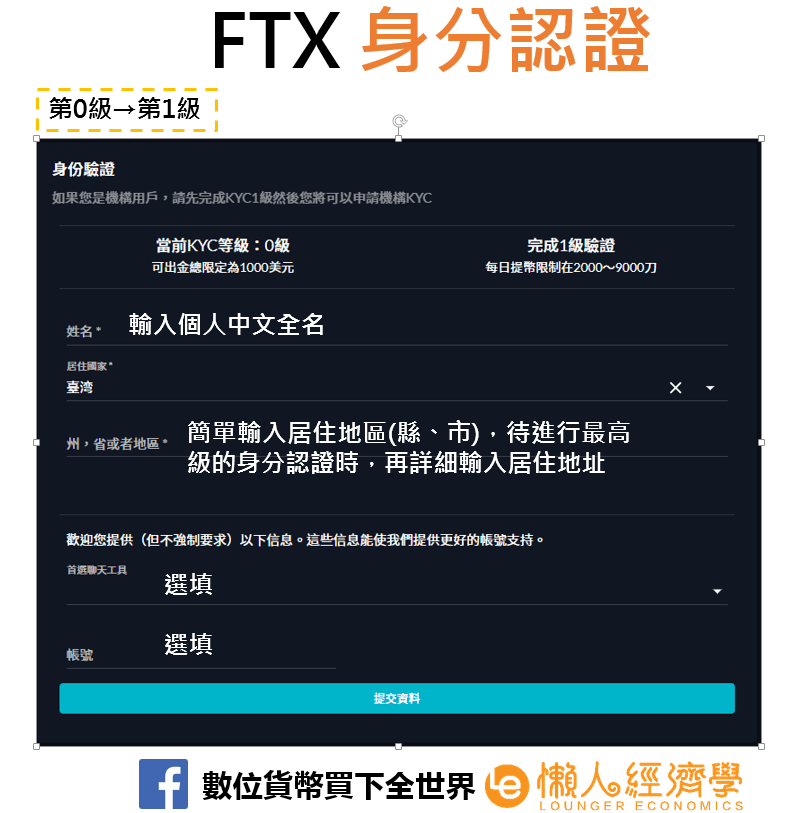 FTX身分驗證8