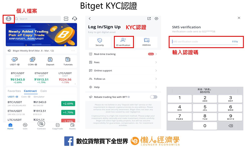 Bitget KYC認證