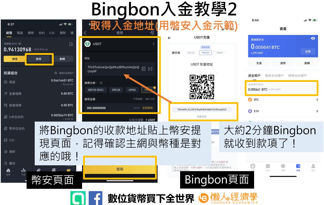 Bingbon儲值介紹