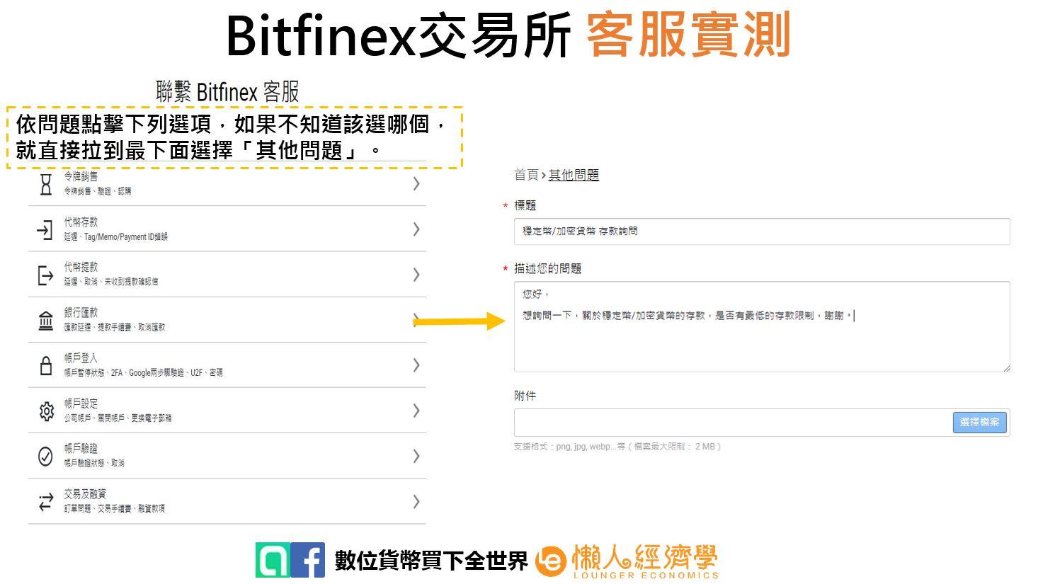 Bitfinex客服實測
