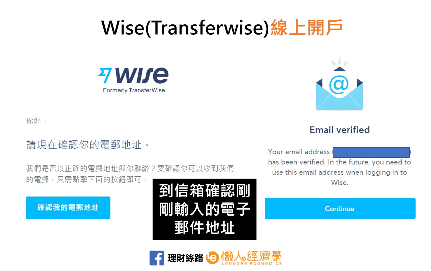 WISE驗證電子郵件