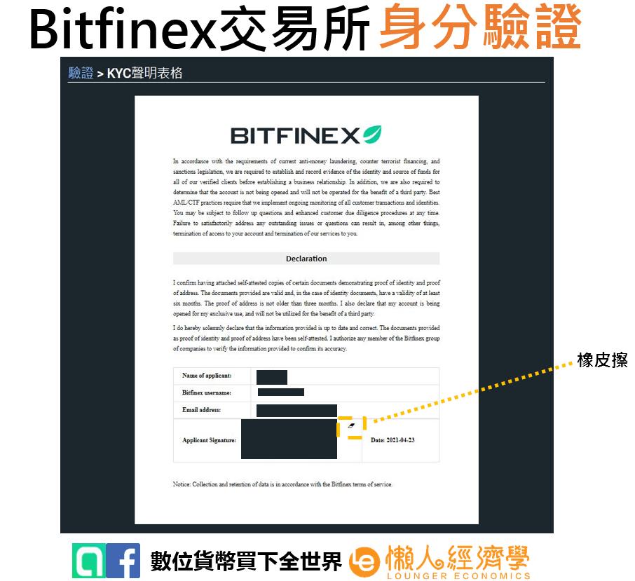 Bitfinex身分驗證15