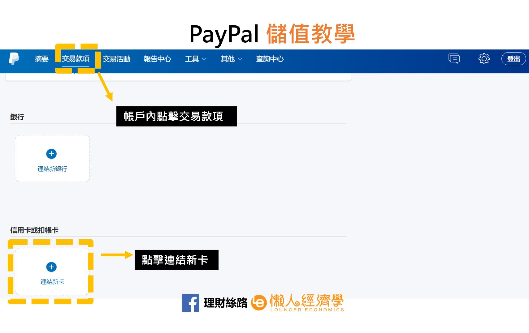 PayPal儲值