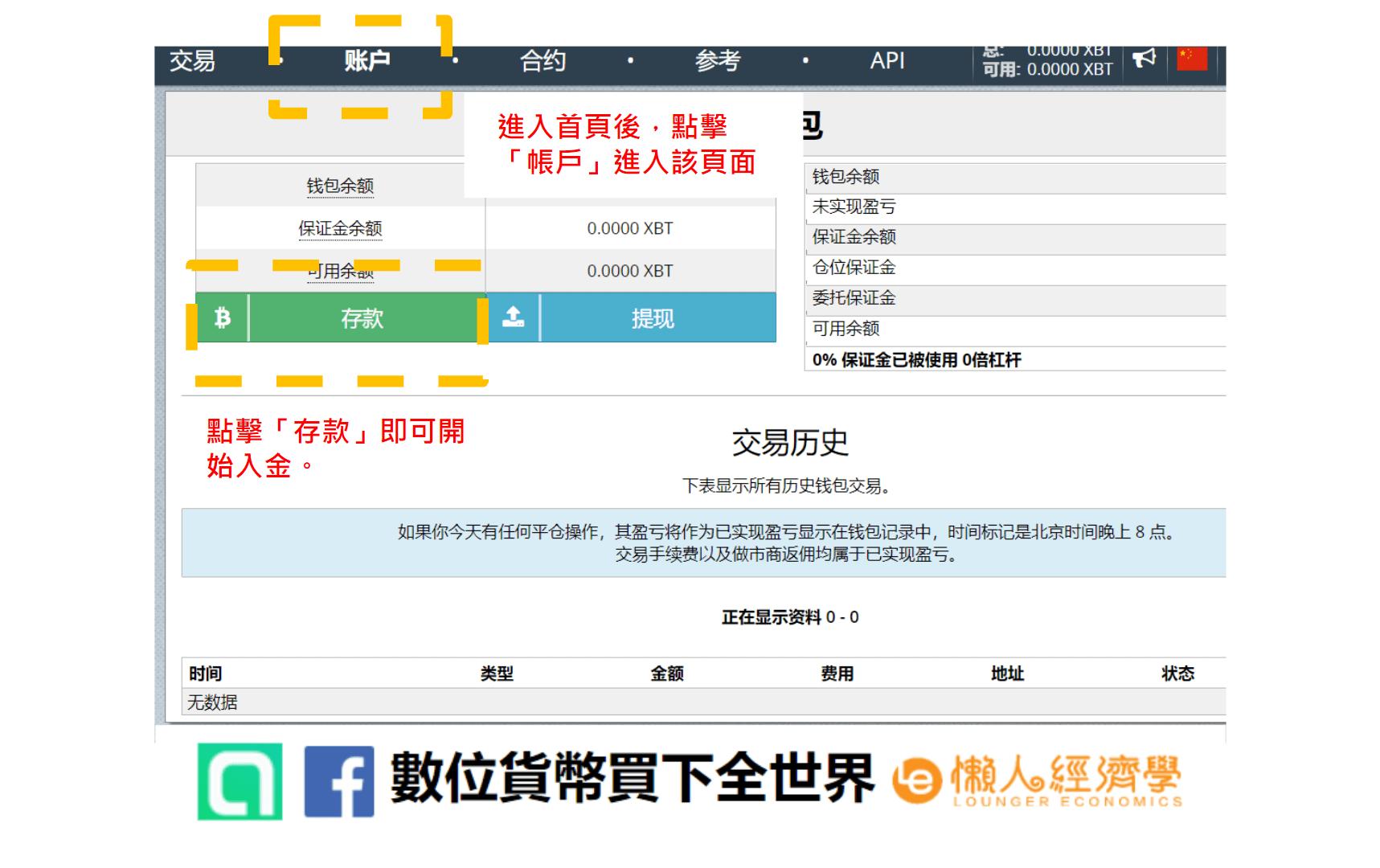 itMEX交易所入金教學
