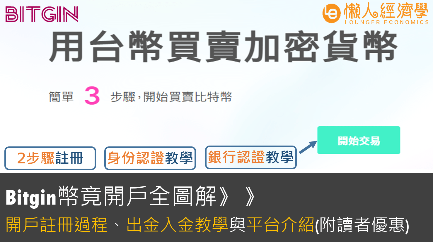 【台灣虛擬貨幣交易所】Bitgin 開戶教學:2步驟註冊圖解、出金入金介紹、客服實測