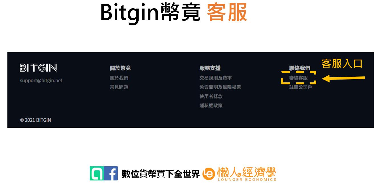 Bitgin客服