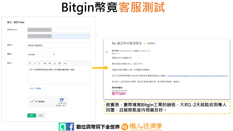 Bitgin客服測試