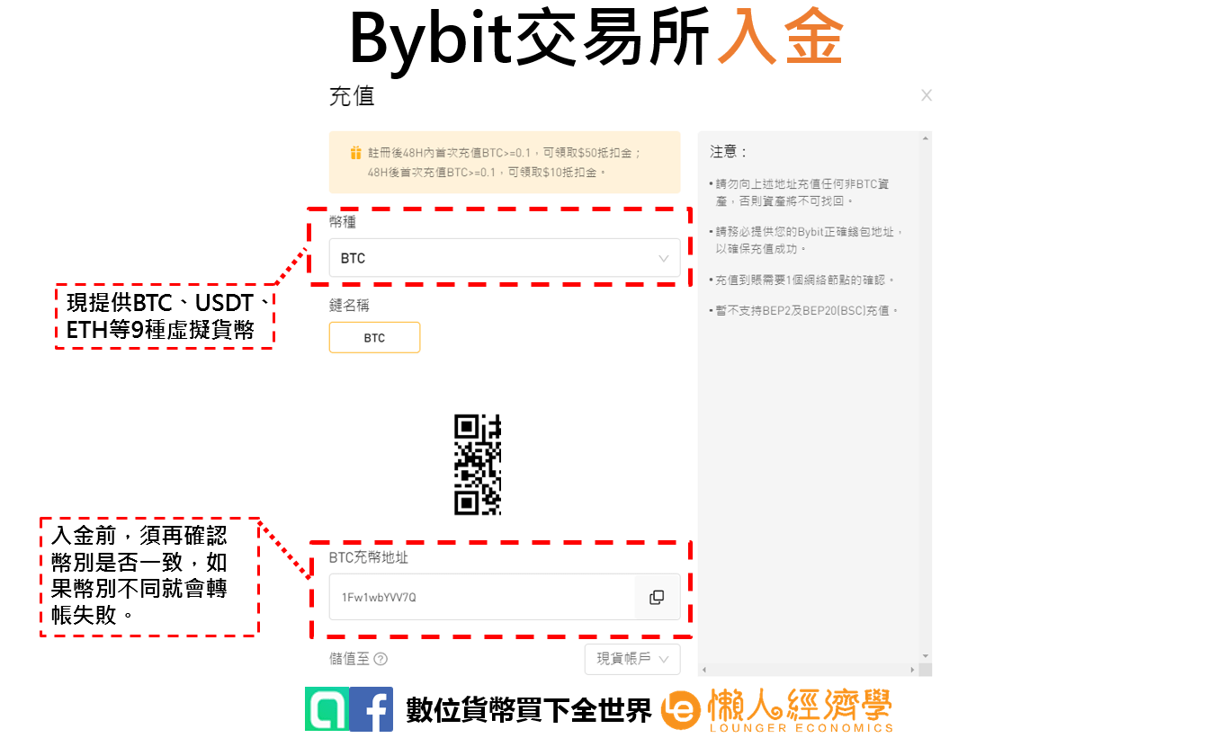 Bybit入金2