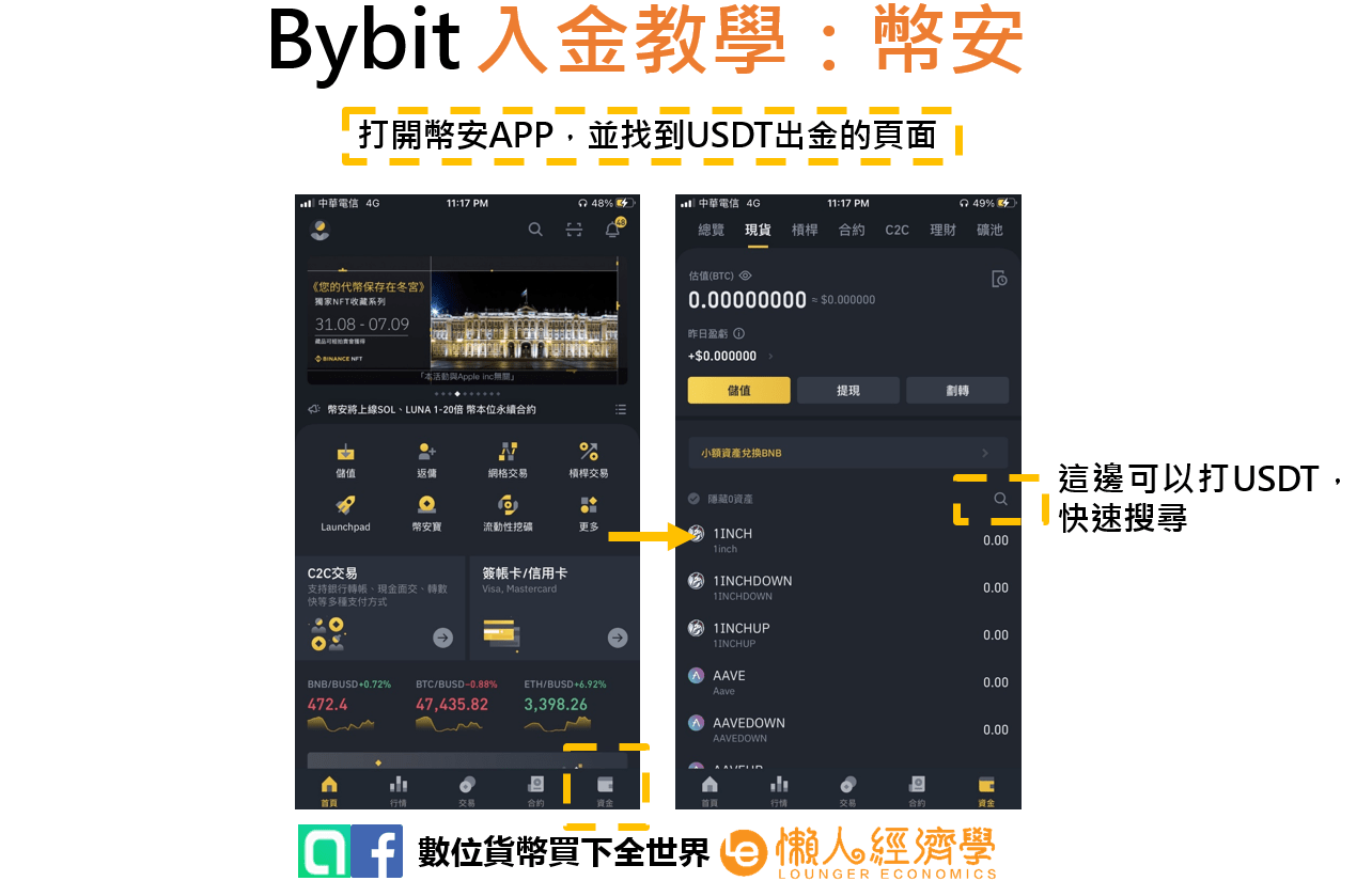 Bybit入金實測2