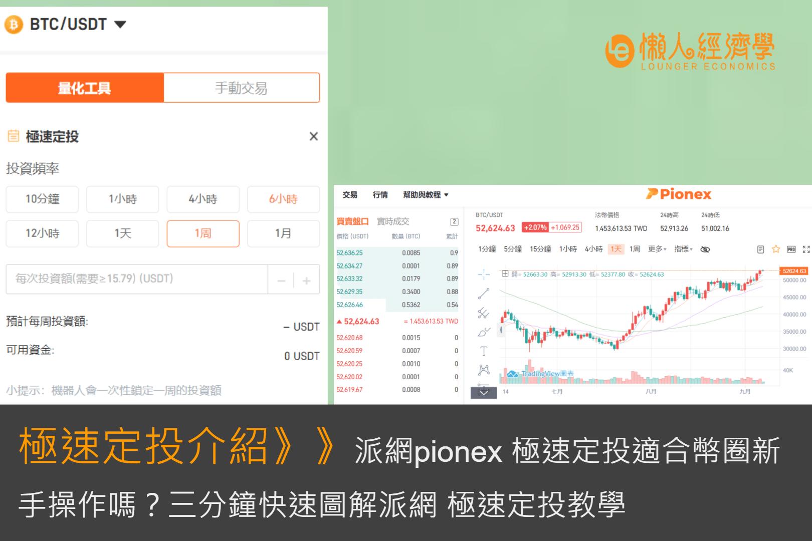 派網Pionex極速定投適合幣圈新手操作嗎?三分鐘快速圖解派網 極速定投教學